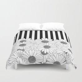 Daisy Stripe Duvet Cover