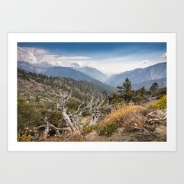 Inspiration Point along Pacific Crest Trail Art Print