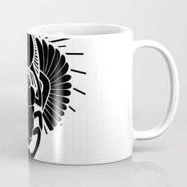 Egyptian Scarab God Coffee Mug
