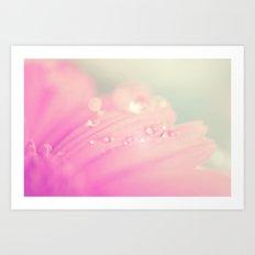 Sprinkle me with pastel Art Print