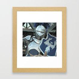 Shining Armor Framed Art Print