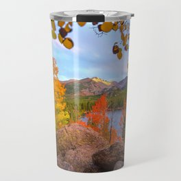Fall In The Rocky Mountains Travel Mug