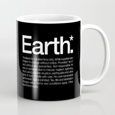 Earth.* Available for a limited time only. Mug