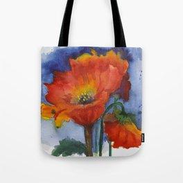 Flowers  Emerged Tote Bag