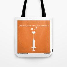 No152 My TRAINSPOTTING minimal movie poster Tote Bag