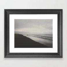 Longbeach, Washington Framed Art Print