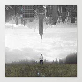 in my place Canvas Print