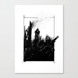 Scorched Canvas Print