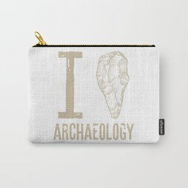 I love archaeology #2 Carry-All Pouch