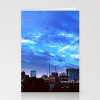 atlanta Stationery Cards featuring Atlanta.  by calvin./CHANCE
