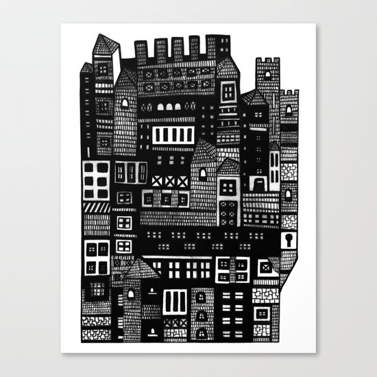Neighborhood II Canvas Print