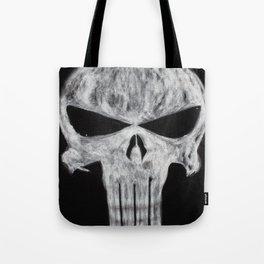 The Punisher skull Tote Bag