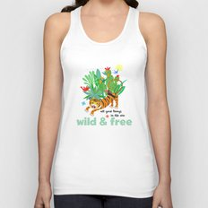 Wild and Free Unisex Tank Top