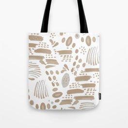 Brushstroke Scatter Tote Bag