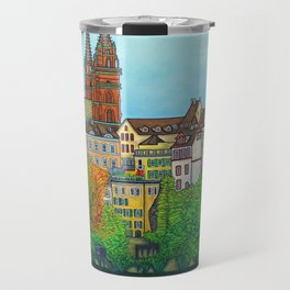 Colours of Basel Travel Mug