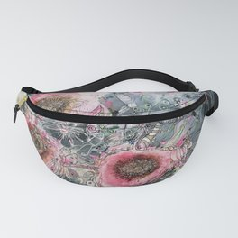 Wild Roses Fanny Pack