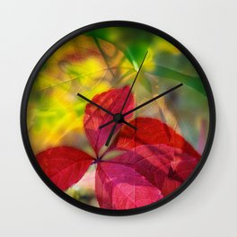 Autumn Rhapsody 2 Wall Clock