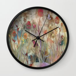 Lifted Up Wall Clock
