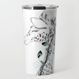 Poetic Giraffe Travel Mug