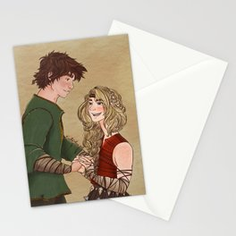 there will always be a Hiccup and Astrid Stationery Cards
