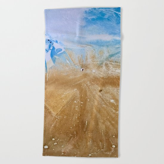 Take me to the beach, Leave me there alone Beach Towel