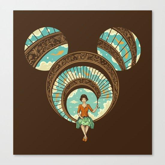 World of Imagination Canvas Print