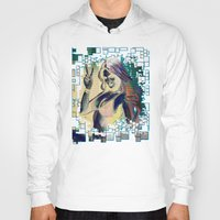 grand theft auto Hoodies featuring grand theft auto v by Colioni