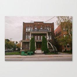 Twin tree triplex Canvas Print