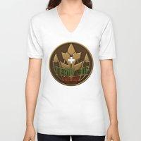 switzerland V-neck T-shirts featuring Team JDF Switzerland by Kate V (Kyrahiko)