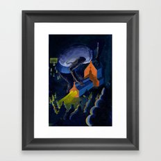 allmighty Framed Art Print
