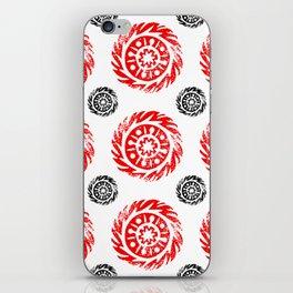 Sun mandala pattern iPhone Skin