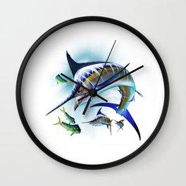 Marlin and Mahi Mahi Wall Clock
