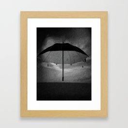 Canopy of darkness Framed Art Print