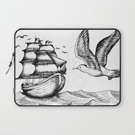 In The Sea Laptop Sleeve