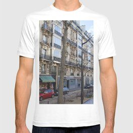 Streets of Paris   Europe Travel Photography T-shirt