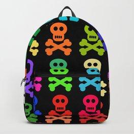 Colorful Pirate Skulls Backpack