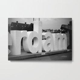 Rotterdam. Metal Print