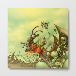 The Redemption Metal Print