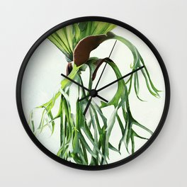 Staghorn Wall Clock