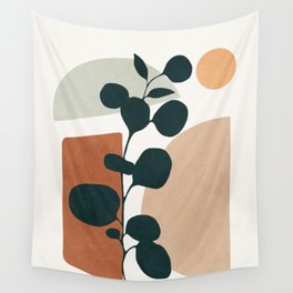 Soft Shapes V Wall Tapestry