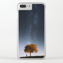 Light and Magic 001 // Tree Gazer Clear iPhone Case