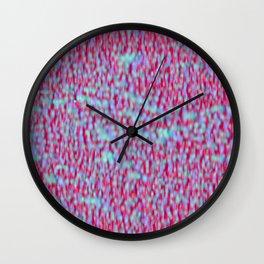 Globular Field 10 Wall Clock