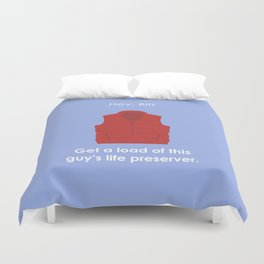 Back to the Future - Life Preserver Duvet Cover