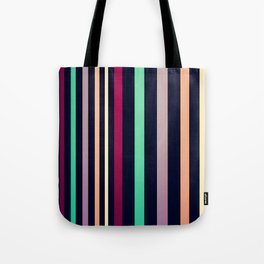 colorful lines! Tote Bag