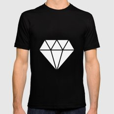 #10 Diamond Mens Fitted Tee Black MEDIUM