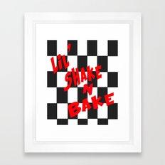 Lil' Shake and Bake Framed Art Print