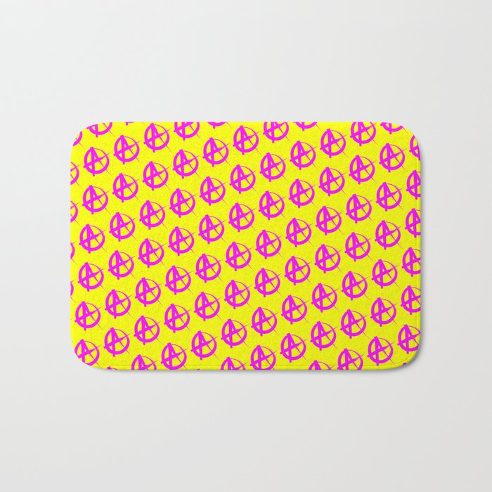 Anarchy Pattern Bath Mat