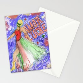 Amor Luche (Airbrush style) Stationery Cards
