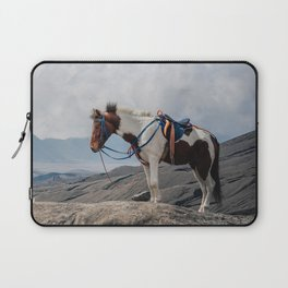 The Horse and the Volcano Laptop Sleeve