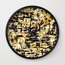 Ikarus 3 Wall Clock